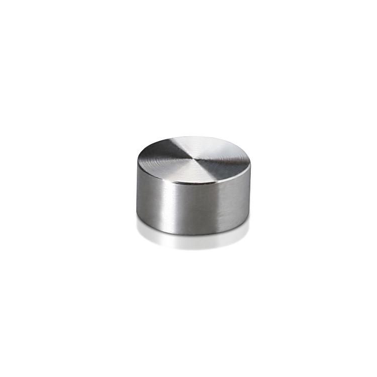 Set of 4 Screw Cover Diameter 1/2'', Stainless Steel (Indoor or Outdoor)