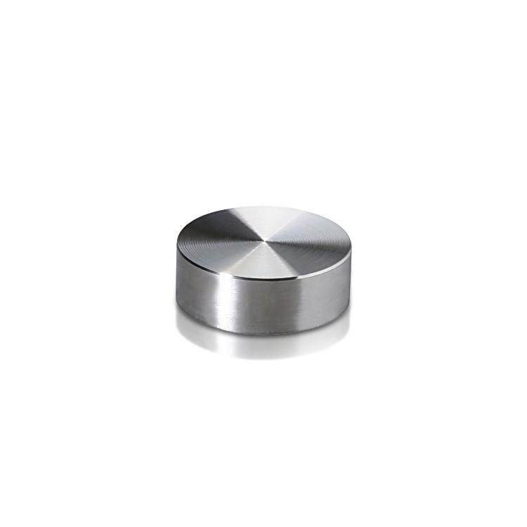 Set of 4 Screw Cover Diameter 5/8'', Stainless Steel (Indoor or Outdoor)