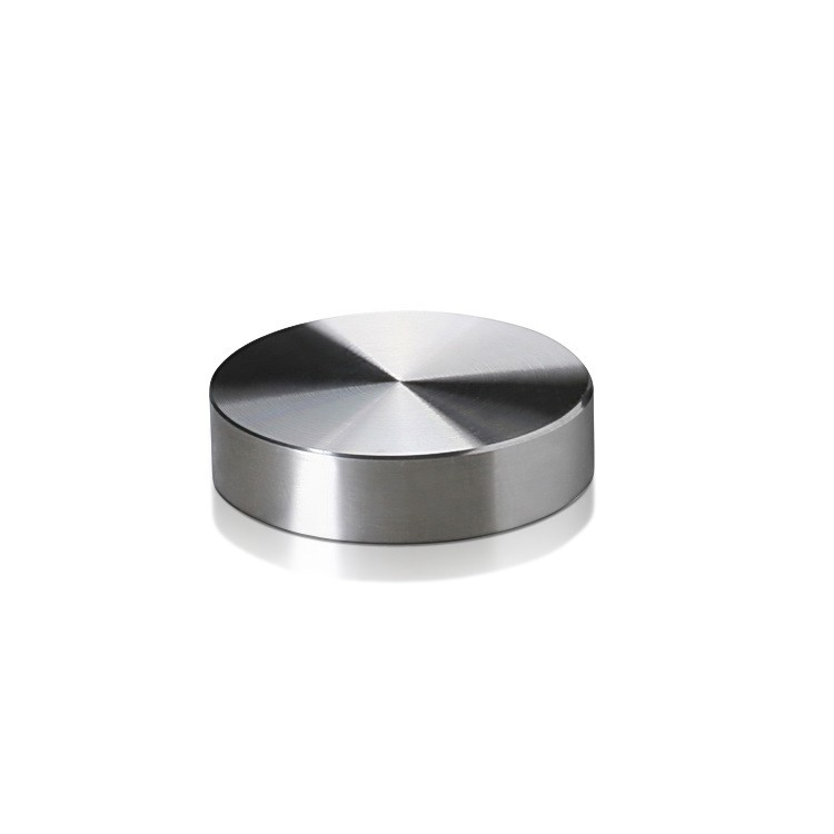 Set of 4 Screw Cover Diameter 1'', Stainless Steel (Indoor Use Only)