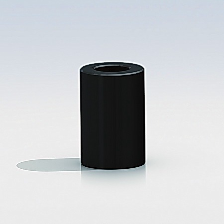 Black Spacers Diameter:  3/8'' x L  3/16''