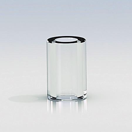Clear Spacers Diameter: 3/8'' X L 9/16'' (Bag of 100)