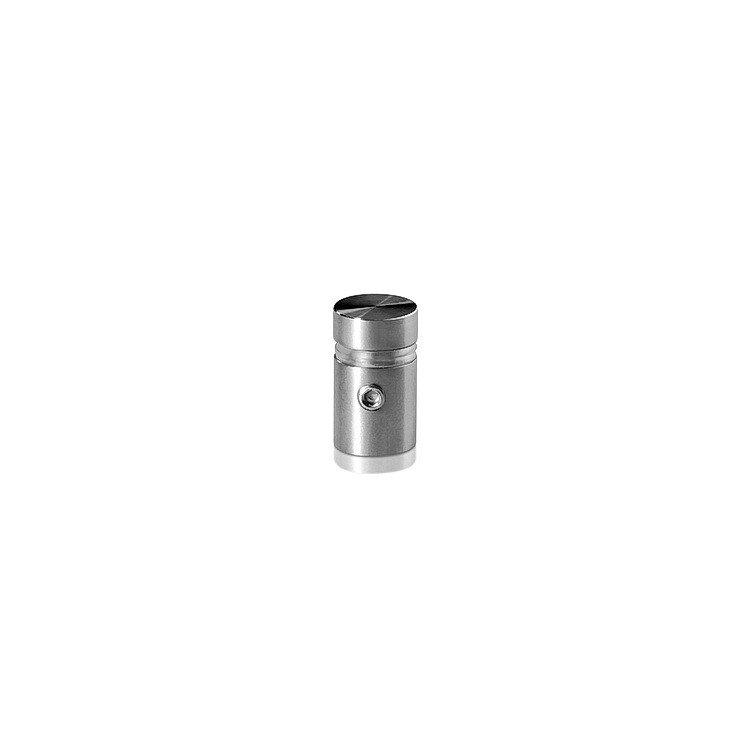 Stainless Steel Locking Standoffs, Diameter: 1/2'', Standoff: 1/2'', Satin Finish