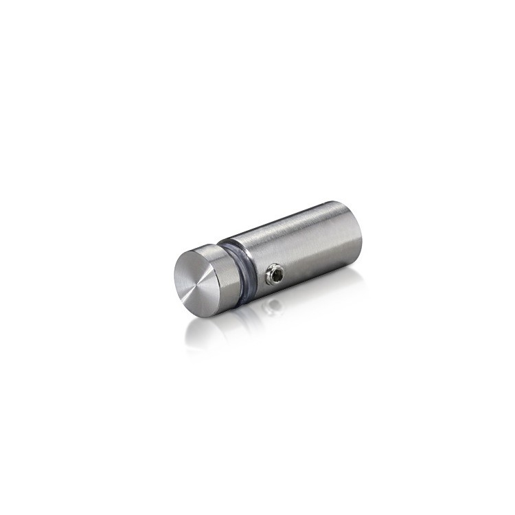 Stainless Steel Locking Standoffs, Diameter: 1/2'', Standoff: 1'', Satin Finish