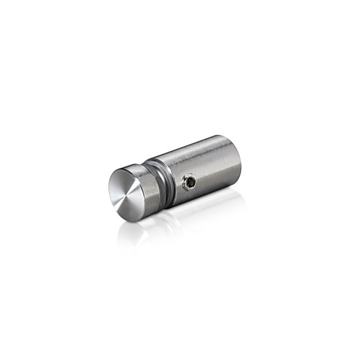 Stainless Steel Locking Standoffs, Diameter: 1/2'', Standoff: 3/4'', Satin Finish