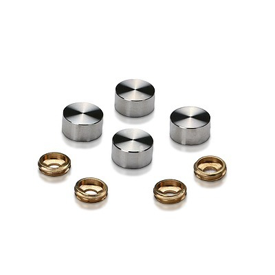 Stainless Steel Screw Cover (for Inside or Outside)
