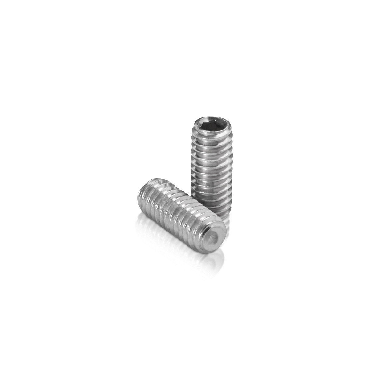 Stainless Steel Stud 5/16-18 Threaded, Length: 3/4''