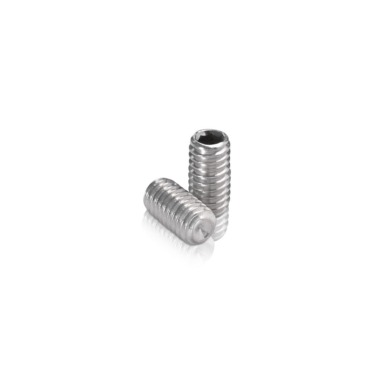 Stainless Steel Stud 5/16-18 Threaded, Length: 5/8''