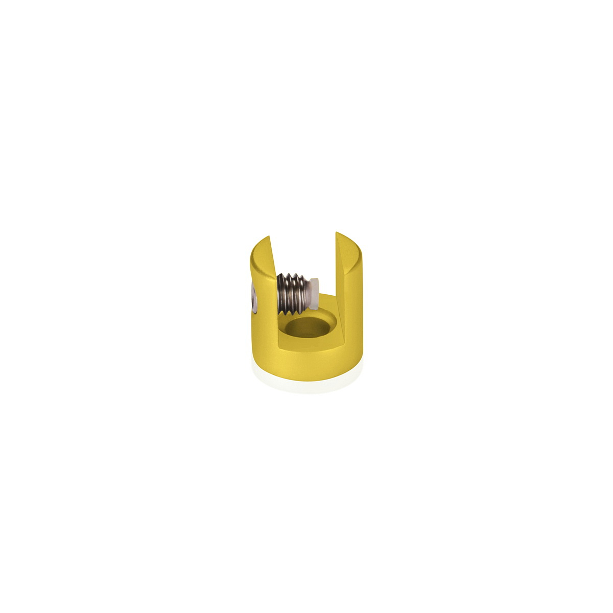 (Set of 2) 5/16'' Aluminum Gold Anodized Finish Projecting Gripper