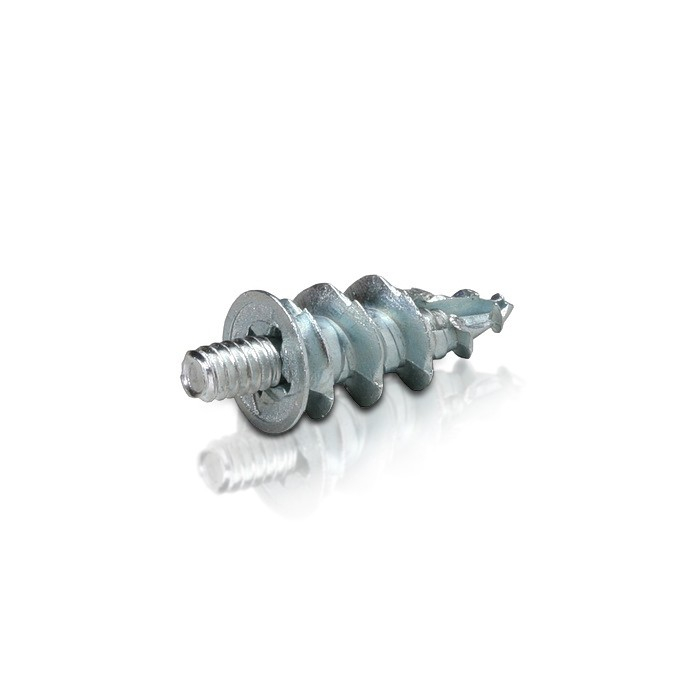 Zinc Speed Anchor for Drywall with 10-24 Combination Screw